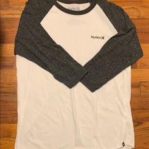 Hurley 3/4 sleeve t shirt